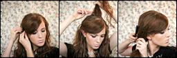 Прически на длинные волосы в школу: красивые и быстрые 57