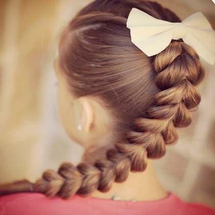 Фото несложных причесок на длинные волосы 61