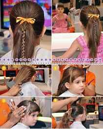 Самые красивые причёски для девочек собственными руками. Фото №2