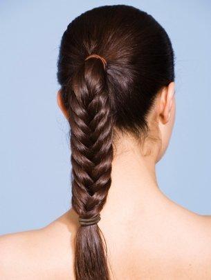 Прическа на длинные волосы для девочек
