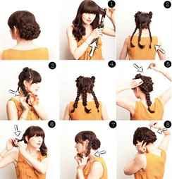 Причёски на длинные волосы пошагово своими руками