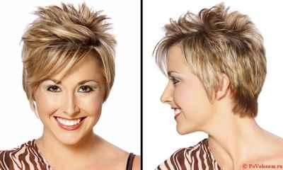 Стрижки на короткие волосы и укладки для женщин