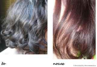 Волосы после бес цветной хны
