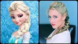 Как сделать прическу как у принцессы эльзы