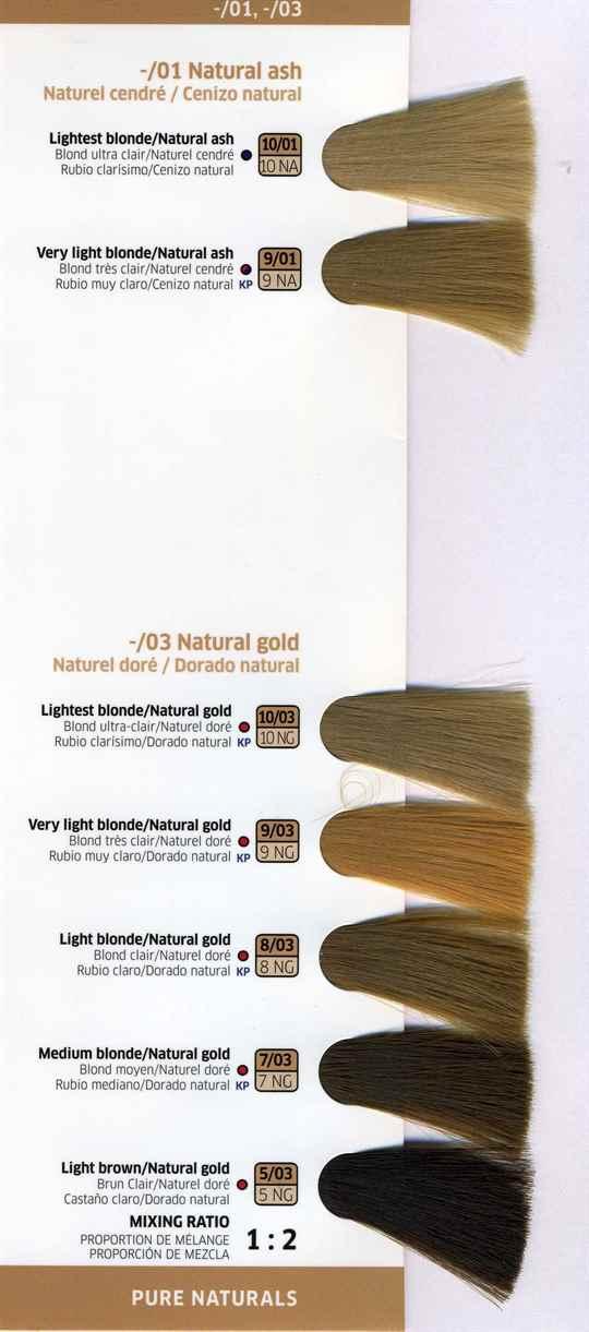 Стойкость и богатство оттенков краски для волос Велла ( )