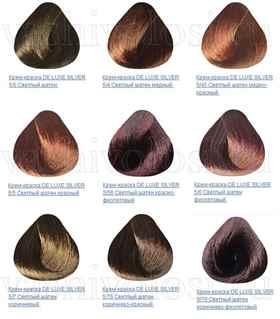 Матрикс краска для седых волос палитра