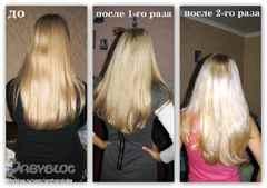 Осветлить волосы в домашних условиях за один раз
