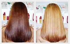 осветление волос перекисью до и после фото