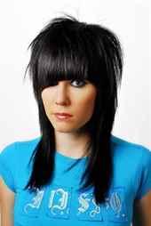 Прически на длинные волосы с коротким верхом