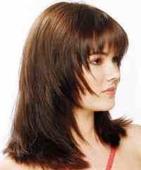 Прически на прямой волос стрижка