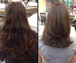 Модные стрижки на длинные волосы - фото