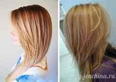 Стрижка лесенка вид сзади на короткие волосы