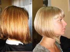 Тонирование волос фото до и после для блондинок