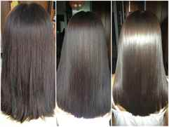 тонирование на темные волосы фото до и после