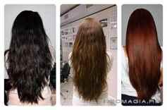 Как сделать смывку для темных волос 586