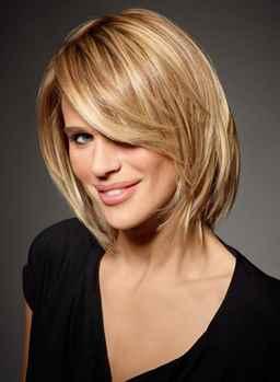 Фото стрижки со светлыми волосами