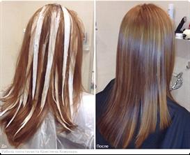 Мелирование тонирование волос в домашних условиях