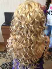 Завивка волос на крупные локоны фото в домашних условиях
