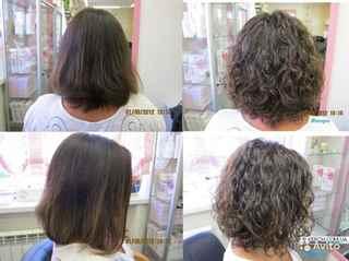 Биохимия для волос фото до и после
