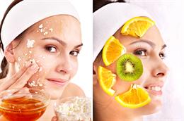 Маски против шелушения кожи лица