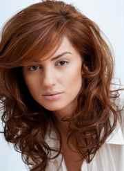 Коричневый цвет волос с рыжим
