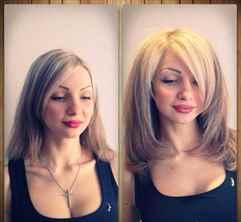 Сделать объем на волосах