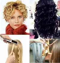 Как быстро завить волосы