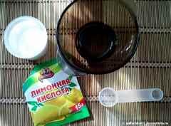 Шугаринг паста в домашних условиях с лимонной кислотой