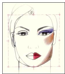 Макияж для квадратного типа лица