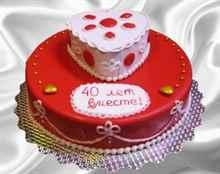 Подарок на 40 летний юбилей свадьбы 1