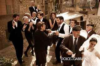 Italian polka wedding