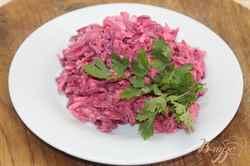 салат для похудения с капустой и свеклой рецепт