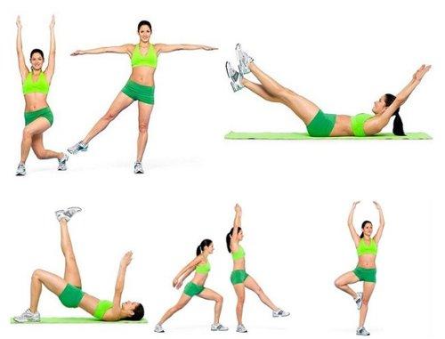 Как похудеть упражнения для детей для живота и ног