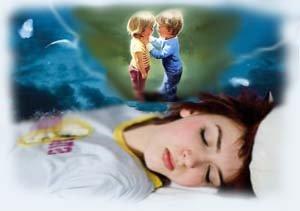 Снится сон дети