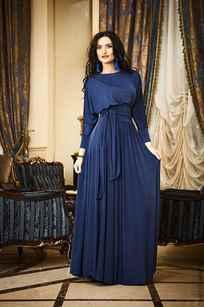 Длинные платья с длинными рукавами в пол