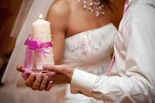 Свеча своими руками для свадьбы