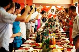 Праздничный пир полноценная организация праздников