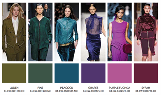 Модные сочетания цветов в одежде 2017