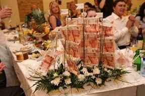 Корабль для денег на свадьбу своими руками
