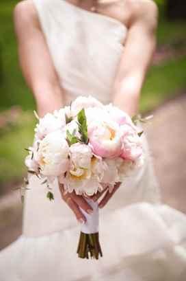 Свадебный букет невесты традиции