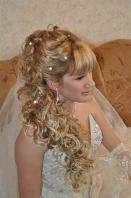 фото свадебные и вечерние прически с длинным шиньоном
