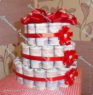 Как сделать свадебный подарок своими руками в домашних условиях