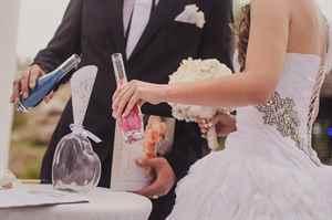 Церемонии для молодоженов на свадьбе