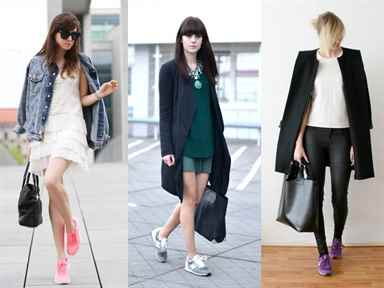 New balance fashion trend