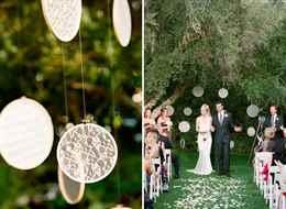Декор для свадьбы идеи