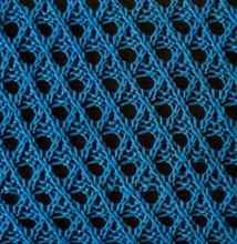 Узор из дырочек вязание