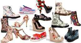 Фото модные женские обувь лето