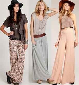 Types of Pants for Women Formal Palazzo Trousers
