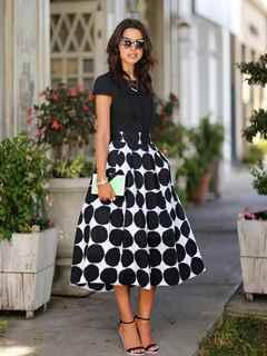 Пышные стильные юбки
