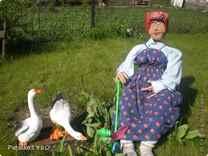 Куклы в огороде своими руками фото